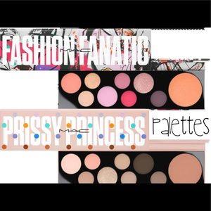 mac fashion fanatic and prissy princess palette